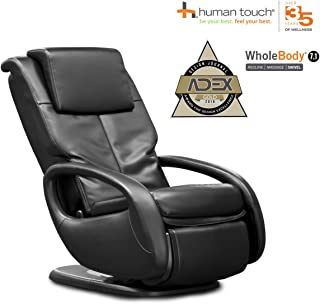 Human Touch WholeBody 7.1 Massage Chair - 3D FlexGlide, CirQlation Technology - 5 Programs, Black
