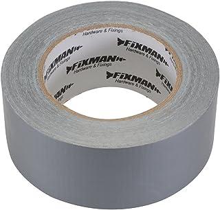 Fixman 188824 Super Op zwaar werk berekende Zilveren Duct Tape 50mm x 50m