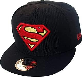 New Era Superman Black DC Comics Snapback Cap Kappe 9fifty Limited Edition New