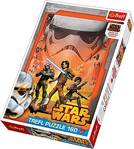 TREFL 15301 Puzzle - Rompecabezas (Puzzle Rompecabezas, Dibujos, Niños, Star Wars, Niño/niña, 6 año(s))