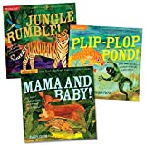 Workman Publishing Indestructibles Wordless Animal Books - Set of 3
