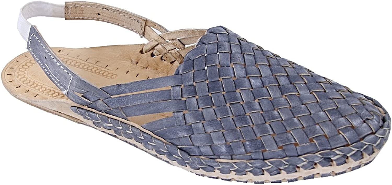 KOLHAPURI CHAPPAL Original Attractive Looking Grey mat Design Back Strip Ladies Kolhapuri Half shoes Slipper Sandal