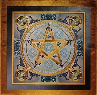Wicca magiczny obrus Air Star - magiczna moc powietrza średni rozmiar 24 x 24