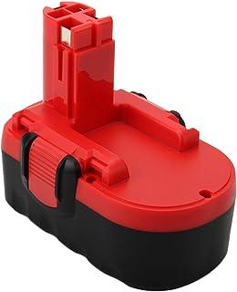 Hanaix 3.0Ah 18V BAT180 Replacement Battery Compatible with Bosch BAT026 BAT181 BAT025 BAT160 BAT189 2607335265 2607335266...