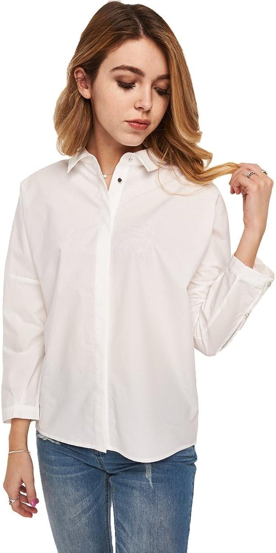 Just Female Women's Kei Shirt (Optical White)