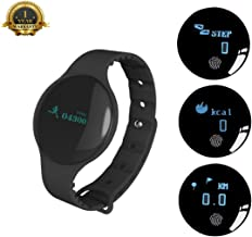 JAchoice Fitness Tracker Activity Watch Bluetooth Fitness Band Sleep Monitor Pedometer Calorie Burn Call SMS Reminder Smart Bracelet for iOS iPhone X 8 7 6S 6 Android Samsung Men Women Boys Girls