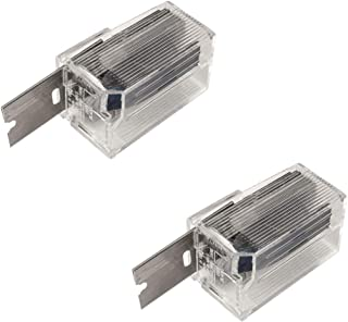 Single Edge Carbon Steel 10 Blade Dispensers Refillable - 20 Blades Total Included - Werxrite RetraGuard Razor Blade Scraper Compatible