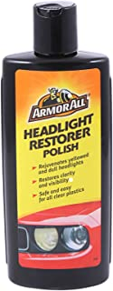 Armor All Headlight Restorer Polish, 8 Oz Black