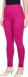 Saundarya Women's Churidar Leggings Soft Cotton Lycra Fabric