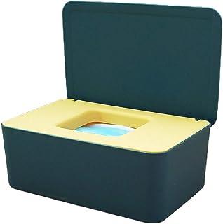 WT-DDJJK Uchwyt do przechowywania, pudełko na chusteczki pudełko do przechowywania niemowląt dozownik mokrych wycieczek z ...