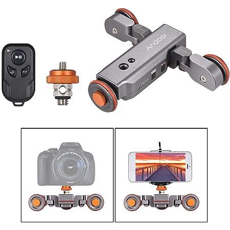Andoer L4 Pro Dolly Videokamera Mit Anzeigeskala Elektronik