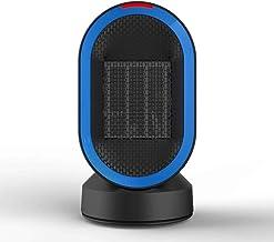 J.SD Calefactor eléctrico Ventilador 600W Mini Moda Escritorio pequeño Poder Ventilador Sol Casa Creative cerámica calefacción 220V
