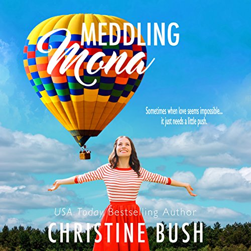 Meddling Mona audiobook cover art
