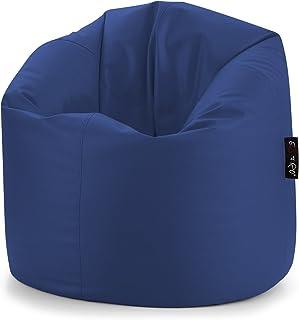 Poltrona a Sacco da Gioco Bean Bag Bazaar Designer Recliner Poltrona Sacco Pouf per Soggiorno Marrone Poltrona a Sacco da Gioco 90cm x 73cm Similpelle