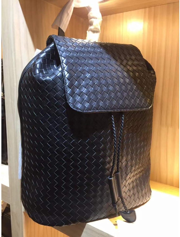WOKJBGE Rattan Tasche Handgestrickte Taschen Rucksack Hochleistungs Allzweckbergsteiger für Mnner und Frauen
