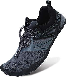 L-RUN Athletic Hiking Water Shoes Mens Womens Barefoot Aqua Swim Walking Shoes