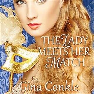 The Lady Meets Her Match audiobook cover art
