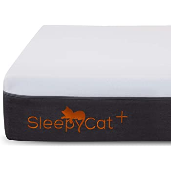SleepyCat Plus 8 Inch Orthopedic Memory Foam King Size Mattress (78x72x8 Inches, Gel Memory Foam)