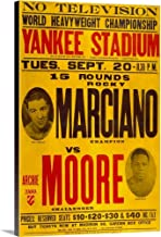 Marciano vs Moore Canvas Wall Art Print, 32