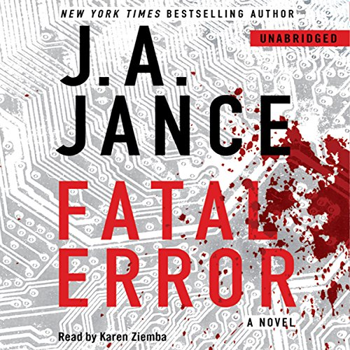 Fatal Error audiobook cover art