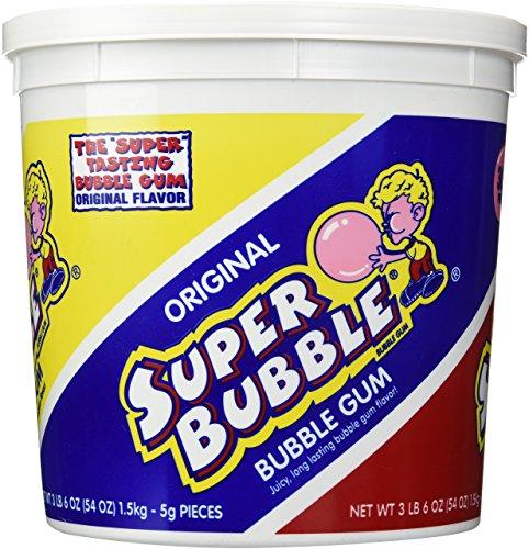 Farley's & Sathers Super Bubble Bucket Original, 300 Count