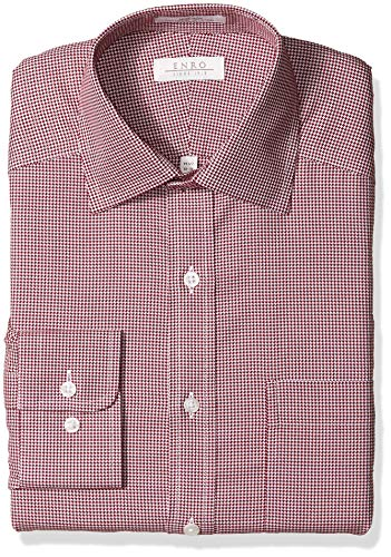 Enro Mens Wakefield Dobby Non-Iron Dress Shirt