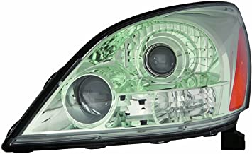 Headlight For 2003-2009 Lexus Gx470 Without Sport Package Driver Side unit Capa Depo LX2502124