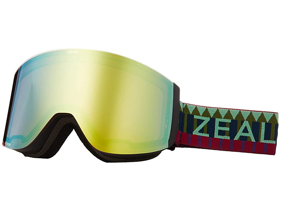 Zeal Optics Hatchet (Royal Peacock w/ Alchemy Mirror + Sky Blue Mirror) Snow Goggles