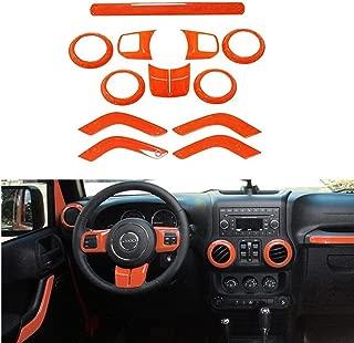 2017 orange jeep