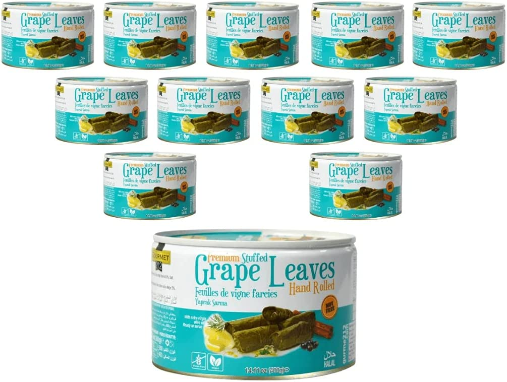 Premium Low price Stuffed Grape Leaves 14.11 trust Ounces of - Gourmet2 Pack 12