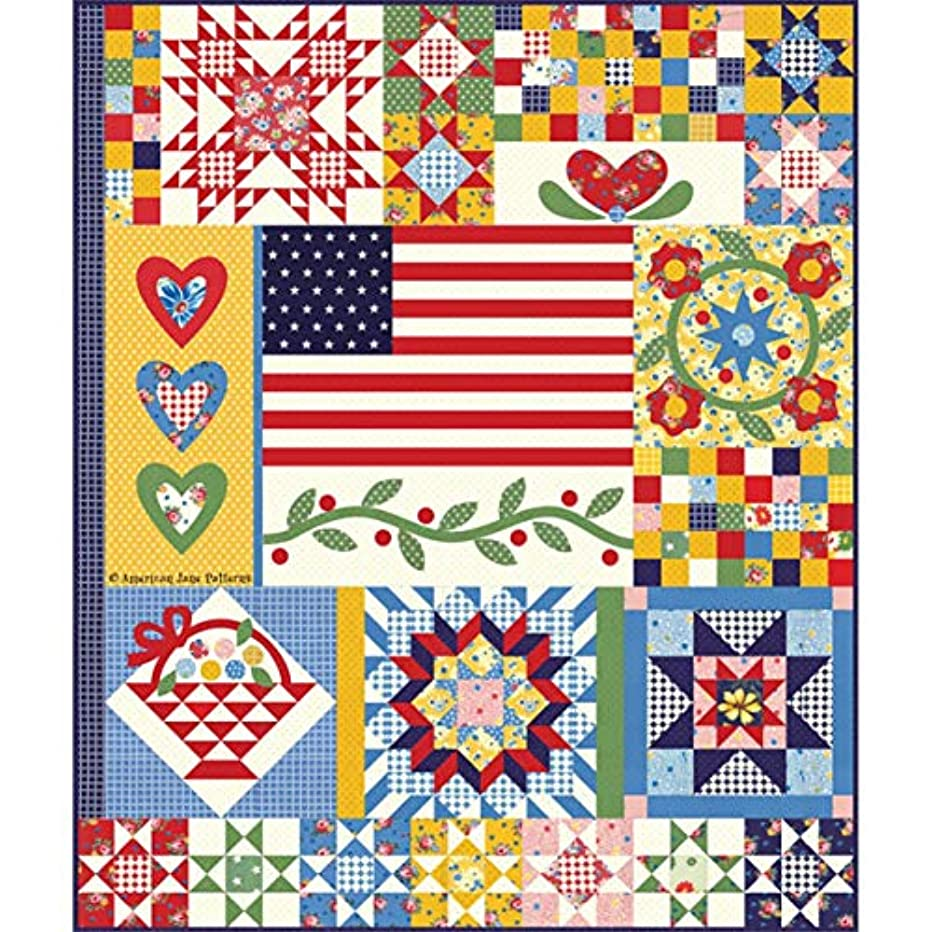 Moda Fabrics Sweet Harmony American Jane Quilt Kit