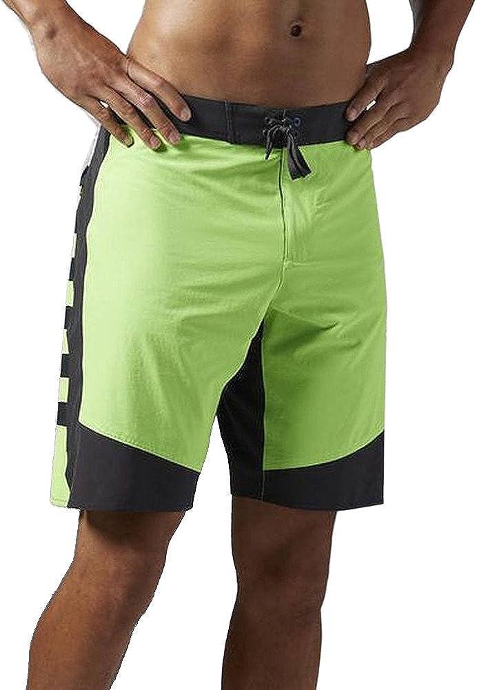 Reebok Mens Speedwick Training Shorts Black Stretch Cordura Fabric Size medium