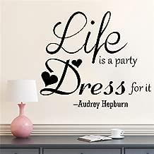 life is like a party dress like it