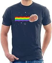 Harold Hide The Pain Nyan Cat Meme Men's T-Shirt