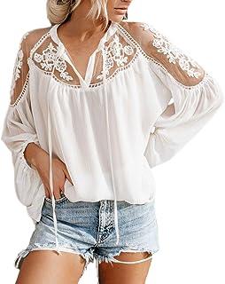Amazon.es: huixin - Blusas y camisas / Camisetas, tops y ...