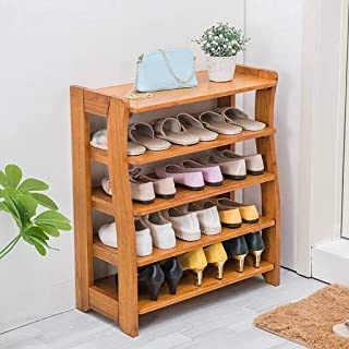 JJZXT Chaussures Rack Chaussures Organisateur étagère de Rangement Hold Up Porte d'entrée Hall d'entrée Salle de Bain Coul...