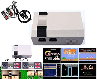 Jackky Classic Game Console Built-in 621 Game in TF Card, with 2 Joysticks, Video Game Console, Handheld Game Player Conso...