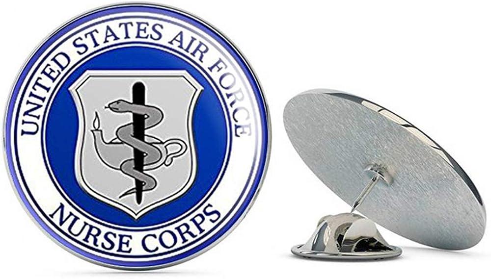 NYC Jewelers Round US Air Force Nurse Corps Seal (USAF Logo) Metal 0.75