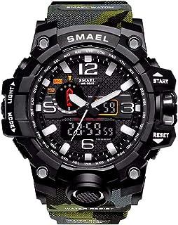 Relógio Masculino G-Shock Exercito Militar Smael 1545 Camuflado Verde