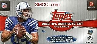 2012 Topps Football Complete Set Hobby Edition (440 Cards Plus Bonus Pack)