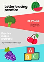 Capital Letters Tracing Practice Workbook