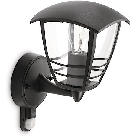 Philips 153883016 Creek Lanterne Murale Aluminium Noir 1 x 60 W