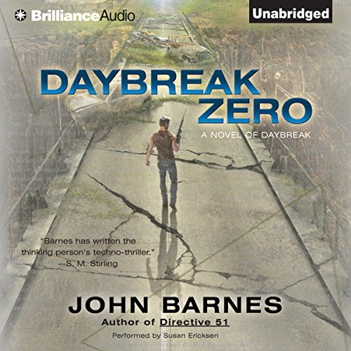 Daybreak Zero audiobook cover art