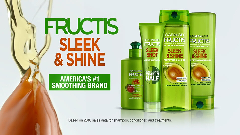 Garnier Fructis Sleek and Shine Anti-Frizz Serum, Frizzy, Dry, Unmanageable Hair, 5.1 fl; oz. - Black Hair Information
