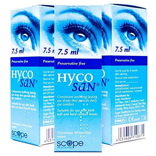3er-PACK Hycosan Feuchtigkeitscreme Blau 7,5 ml