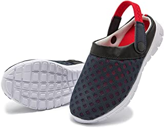 Unisex Breathable clogs, slippers with Mesh, everyday mules Summer Garden Shoes Non-Slip beach shoes Aqua sandals