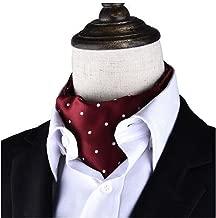 Kylin Express Men's Fashionable Cravat Self Tie Neck Scarf Patterned Tie, No.7