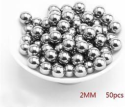 50 e 200 Pezzi Diverse Sfere in Acciaio 4 mm Sfere di centrifuga 2 mm 3 mm GEZICHTA Gettile 6 mm. 5 mm