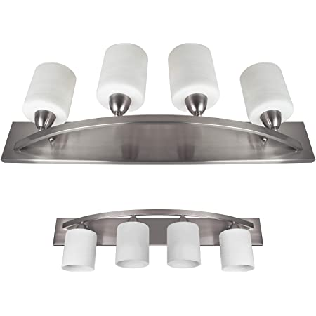 Canarm Ivl429a04ch Milo 4 Light Bath Vanity Light Vanity Lighting Fixtures