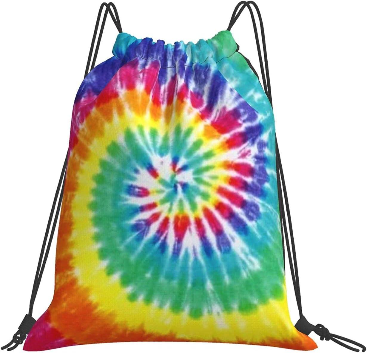 Drawstring Backpack Bags mart Tie Dye Cinch Rucksack Sport Free Shipping Cheap Bargain Gift Adjustable